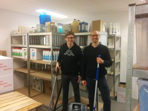 Mads og Emil fra HUMA.dk ApS